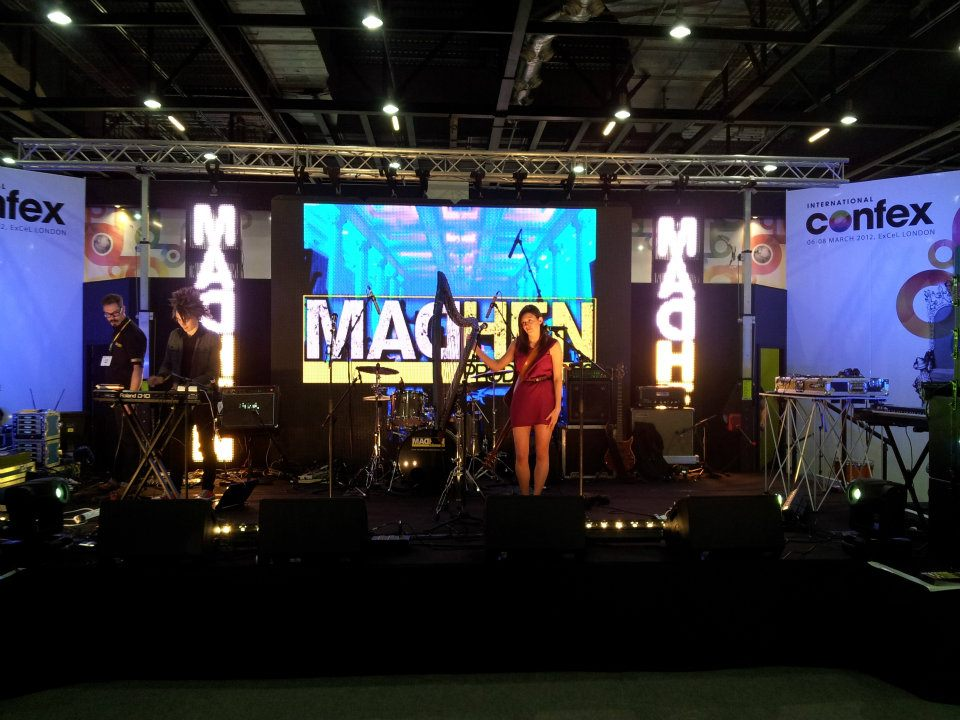 Madhen Productions Stage Confex 2012