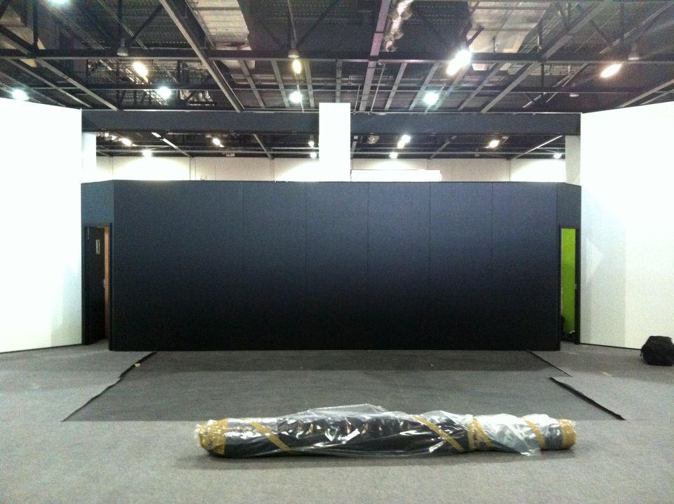 Stage Setup Confex 2012